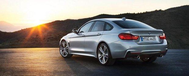 Primele imagini ale noului BMW Seria 4 Gran Coupe au ajuns pe internet!