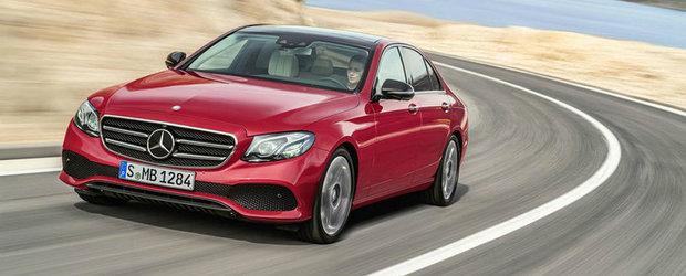 Primele imagini ale noului Mercedes E-Class au ajuns pe internet