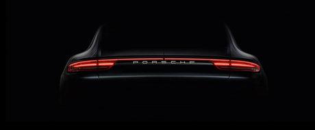 Primele imagini ale noului Porsche Panamera ne dezvaluie lucruri interesante despre posteriorul limuzinei germane