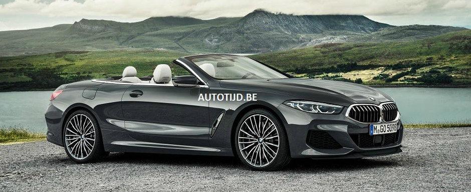 Primele imagini au ajuns pe internet mai devreme decat trebuia: ACESTA e noul BMW Seria 8 Cabrio!