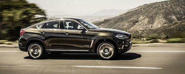 Primele imagini cu BMW X6 2015. Ce parere ai de noul model?
