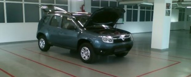 Primele imagini cu Dacia SUV?