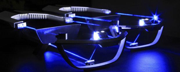 Primele imagini cu farurile laser de la BMW