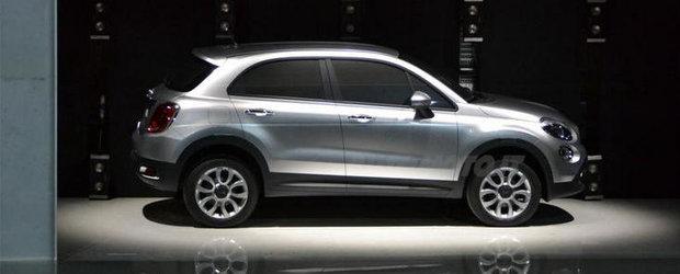 Primele imagini cu Fiat 500X, un crossover din care va evolua un Jeep