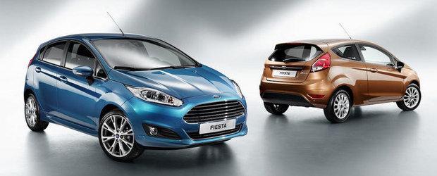 Primele imagini cu Ford Fiesta Facelift