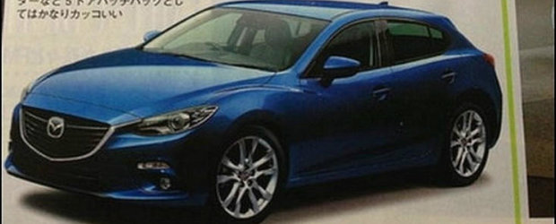 Primele imagini cu noua Mazda3