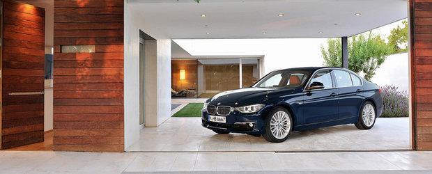 Primele imagini cu noul BMW Seria 3
