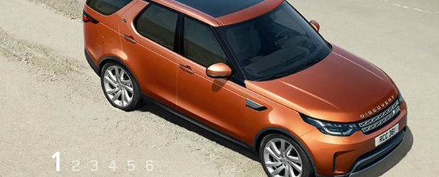 Primele imagini cu noul Land Rover Discovery au fost scapate pe internet cu cateva ore inainte de premiera