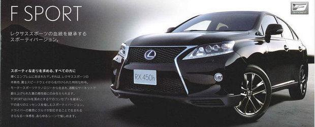 Primele imagini cu noul Lexus RX