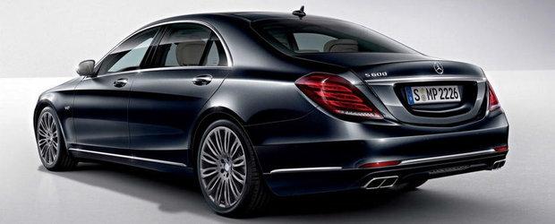 Primele imagini cu noul Mercedes S600, adevarata limuzina suprema!