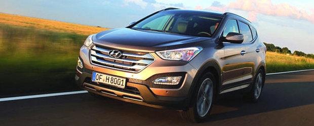 Primele imagini cu versiunea europeana a lui Hyundai Santa Fe