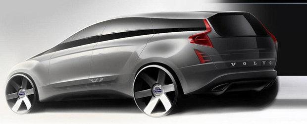 Primele imagini cu viitorul Volvo XC90