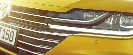 Primele imagini oficiale cu Arteon. Cum arata noul coupe in patru usi de la VW