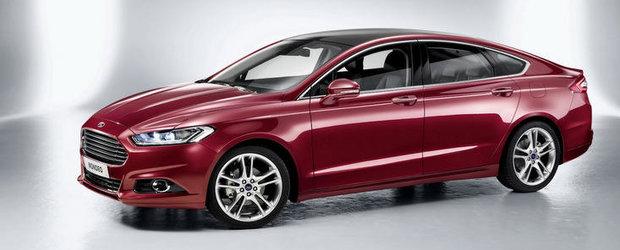 Primele imagini oficiale cu noul Ford Mondeo