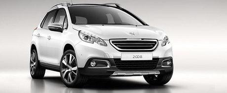 Primele imagini oficiale cu Peugeot 2008