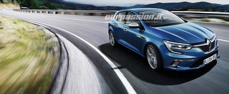 Primele imagini oficiale cu Renault Megane IV. Cum ti se pare noul model?