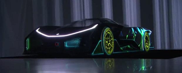 Primele imagini reale cu Faraday Future FFZERO1, masina electrica de 1000 CP
