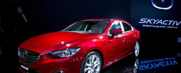 Primele imagini reale cu noua Mazda6