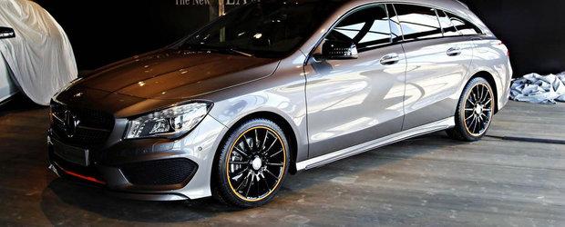 Primele imagini reale cu noul Mercedes CLA Shooting Brake
