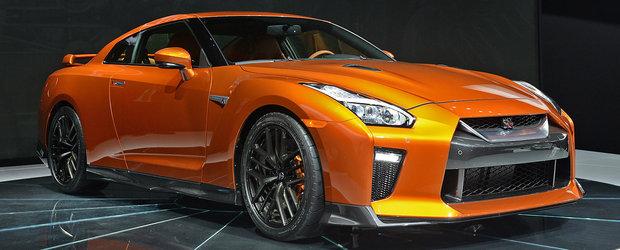 Primele imagini reale cu noul Nissan GT-R 2017. Uite cum arata supercarul japonez fara pic de Photoshop