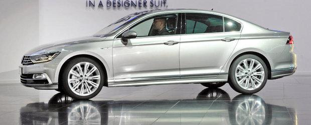 Primele imagini reale cu noul Volkswagen Passat B8