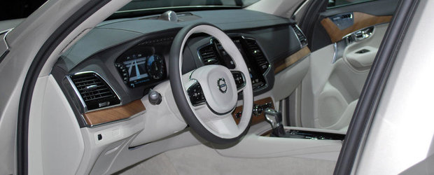 Primele imagini reale cu noul Volvo XC90
