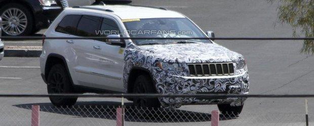 Primele imagini spion cu Jeep SRT8 Facelift