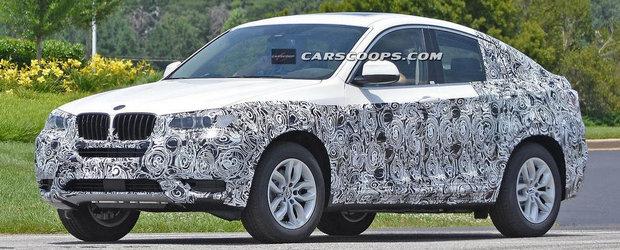 Primele imagini spion cu noul BMW X4 de serie