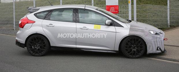 Primele imagini spion cu noul Ford Focus RS