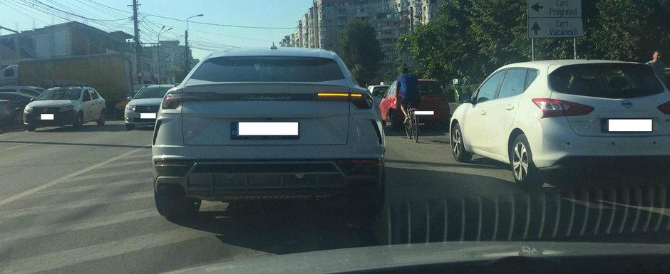 Primele masini Lamborghini Urus au ajuns in Romania. POZE din Bucuresti cu bolidul italian de 650 CP