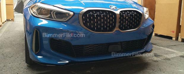 Primele poze au ajuns pe internet mai devreme cu cinci luni. ASTA e noua masina cu tractiune fata de la BMW!