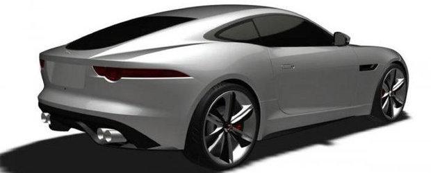 Primele poze cu conceptul Jaguar F-Type Coupe