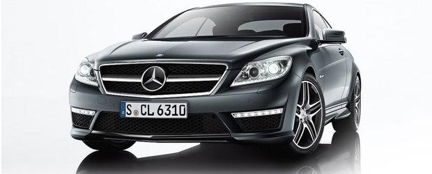 Primele poze cu noile Mercedes CL63 si CL65 AMG cuceresc internetul!