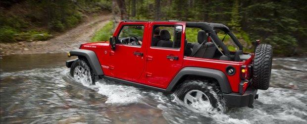 Primele poze cu noul Jeep Wrangler 2011