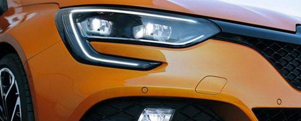 Primele poze oficiale cu noul Megane RS au scapat pe internet. Lansarea publica are loc peste numai cateva ore