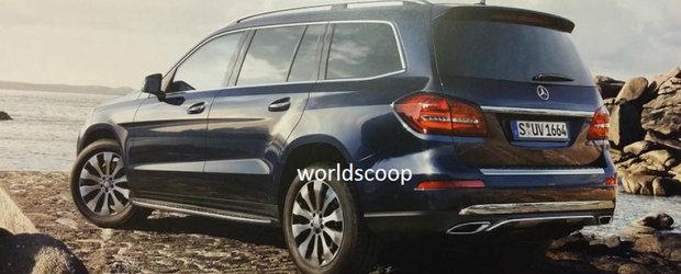 Primele poze oficiale cu noul Mercedes GLS. Cum arata inlocuitorul vechiului GL