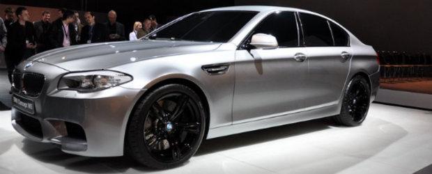 Primele poze reale cu noul BMW M5!