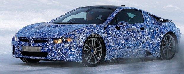 Primele poze spion cu BMW i8, aproape gata de modelul de serie
