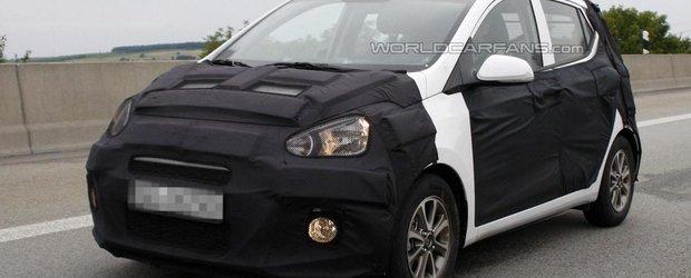 Primele poze spion cu noul Hyundai i10