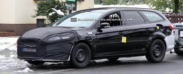 Primele poze spion cu viitorul Ford Mondeo