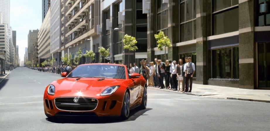 Primele reclame la noul Jaguar F-Type te fac sa-l doresti