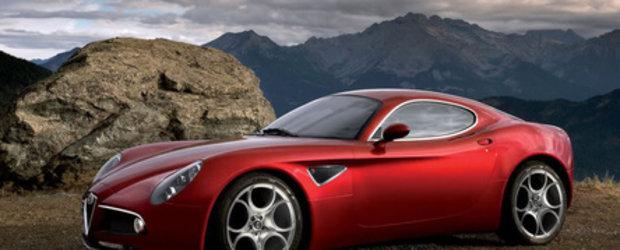 Primele urme de tuning pe Alfa Romeo 8C Competizione!!!