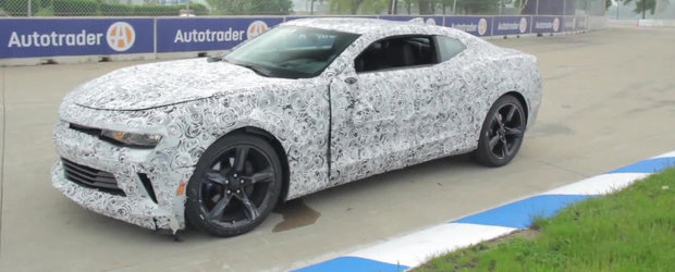 Primul accident cu noul Chevy Camaro vine inainte de startul vanzarilor
