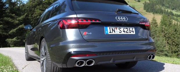 Primul Audi S4 cu motor diesel din istorie. VIDEO cu sunetul propulsorului V6 TDI