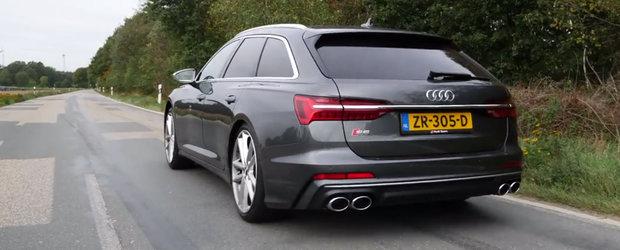 Primul Audi S6 cu motor diesel din istorie. Uite cat de rapid este
