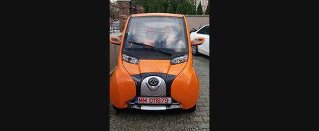 Primul automobil 100% electric fabricat de serie in Romania face 150 km cu 3 lei
