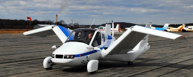 Primul autoturism zburator cu drept de circulatie este pe piata