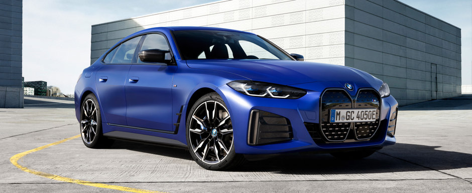 Primul BMW electric din gama M Performance a debutat oficial. Galerie foto completa