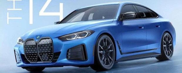 Primul BMW electric din gama M Performance a ajuns mai devreme pe internet. Poza pe care bavarezii o vor stearsa cu orice pret