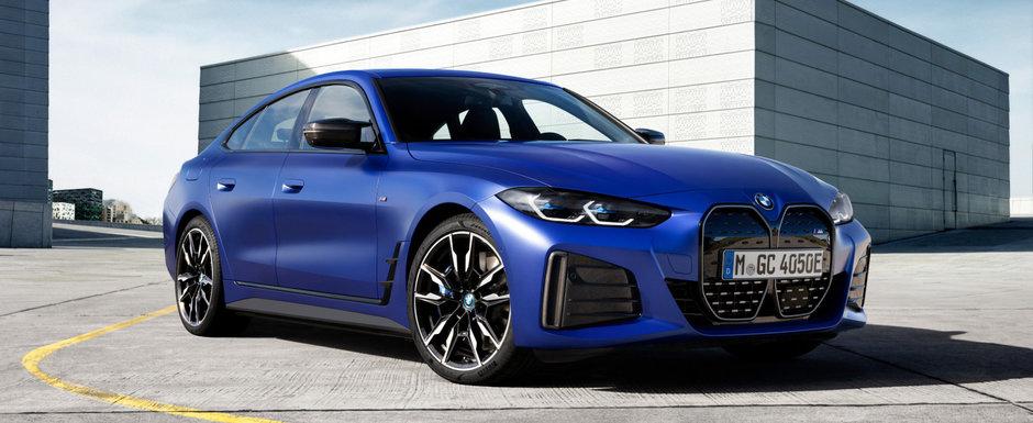 Primul BMW electric din gama M Performance a debutat oficial. Cat costa in Romania